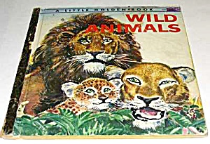 WILD ANIMALS - Little Golden Book (Image1)