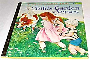 Childs Garden Verses Little Golden Book - Eloise Wilkin