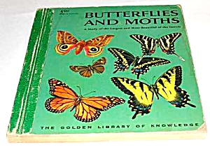BUTTERFLIES AND MOTHS - Golden Library of Knowledge Bk (Image1)