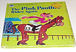 Pink Panther Rides Again Tell-a-tale Book - 1976