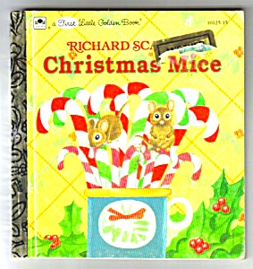 Richard Scarry's Christmas Mice-1st Little Golden Book