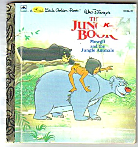Disney JUNGLE BOOK - Mowgli - 1st Little Golden Book (Image1)