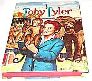 Toby Tyler Saalfield Book