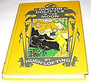 1956 Doctor Doolittle In The Moon Book