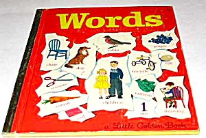 Words #45 Little Golden Book