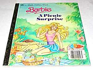 Barbie A Picnic Surprise - Little Golden Book