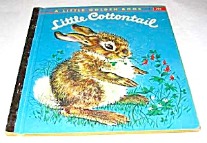 Little Cottontail - Little Golden Book - 1960