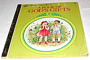 A Book Of God's Gifts - Little Golden Book