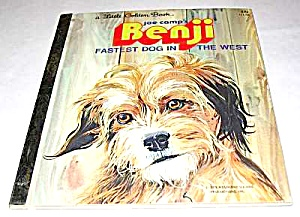 BENJI - FASTEST DOG IN THE WEST - Little Golden Book (Image1)