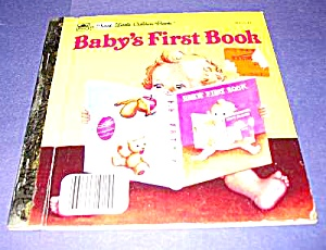 Baby's First Book 1st Little Golden Book