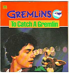 Gremlins - To Catch A Gremlin Movie Book - 1984