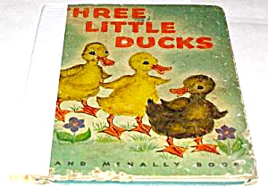Three Little Ducks Rand Mcnally Book