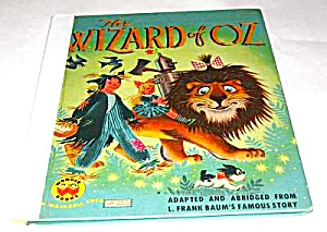 Wizard Of Oz Wonder Book
