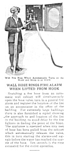 1929 FIRE ALARM RINGS - WALL HOSE  Magazine Article (Image1)