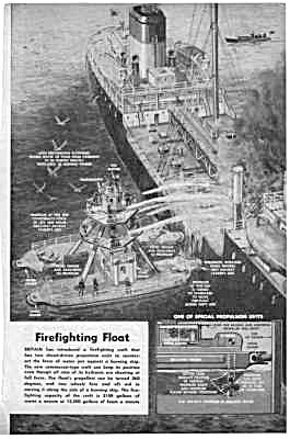1959 Fire Boat - Fireboat Firefighting Magazine Article