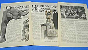 1927 MOVIE MAGIC-EFFECTS Magazine Article (Image1)