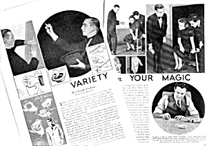 1935 CLAUDE ENSLOW Magic Mag. Article (Image1)