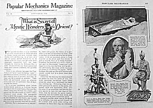 1926 MYSTIC WONDERS OF ORIENT Magic Article (Image1)