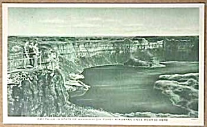 WWII Military DRY FALLS, WASHINGTON Postcard (Image1)