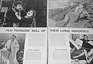 1971 Magazine Article about FILM PIONEERS (Image1)