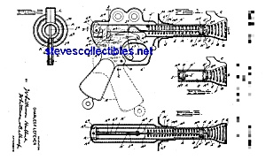 Patent Art: 1930s Toy LASER GUN Space Toy (Image1)