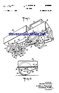 Patent Art: 1960s Marx TOY DUMP TRUCK (Image1)