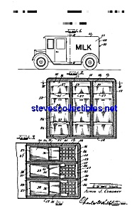 Patent Art: 1930s MILK TRUCK - matted (Image1)
