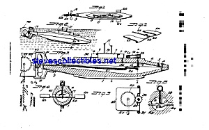 Patent Art: 1910s TOY SUBMARINE - matted (Image1)