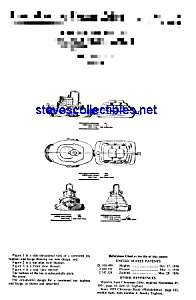 Patent Art: 1960s Toy Tugboat Tug - Matted