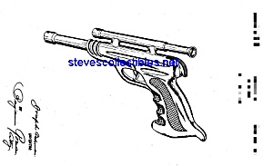 Patent Art: Nice 1940s TOY PISTOL (Image1)