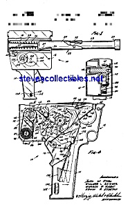 Patent Art: 1960s Agent Zero MOVIE CAMERA-GUN Toy (Image1)