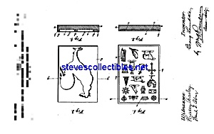 Patent Art: 1890's Small Candy Molds (Image1)