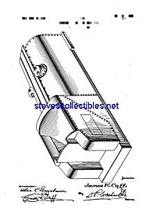 Patent Art: 1920s American Flyer Toy Locomotive Tender (Image1)