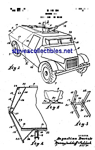 Patent Art: 1940s Armored Car (Image1)