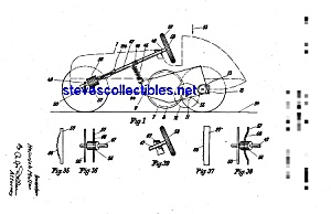 Patent Art:1930s Schuco Toy Racer (Image1)