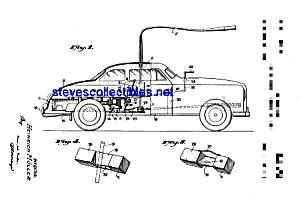 Patent Art: 1950s Schuco Toy Car (Image1)