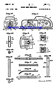 Patent Art: 1950s Schuco WindupToy Car (Image1)