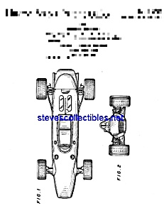 Patent Art: 1970s Toy Racing Car (Image1)