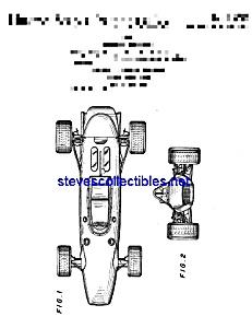 Patent Art: 1970s Toy Racing Car (Image1)