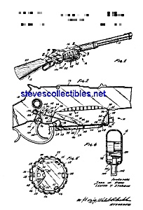 Patent Art: 1960s Mattel Pop Gun Toy (Image1)