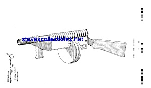 Patent Art: 1930s Marx Toy Machine Gun (Image1)