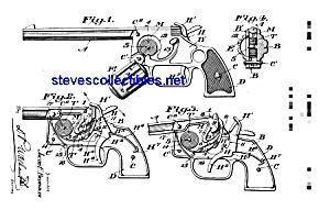 Patent Art: 1930s Hubley Toy Pistol (Image1)