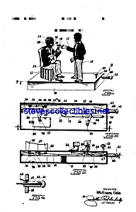 Patent Art: 1920s Black Americana Banjo Toy Bank