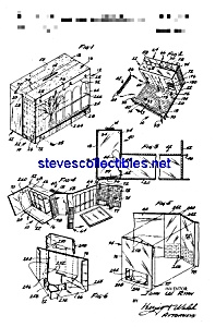 Patent Art: 1960s Barbie Dream House (Image1)