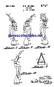 Patent Art: 1950s Kelloggs Diver Toy Cereal Premium (Image1)