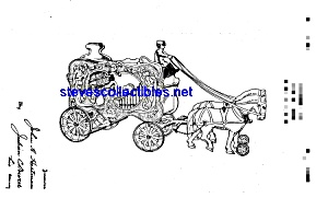 Patent Art: 1920s Hubley Circus Wagon Toy
