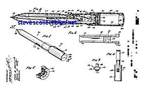 Patent Art: 1960s Cloak and Dagger Toy Pen (Image1)