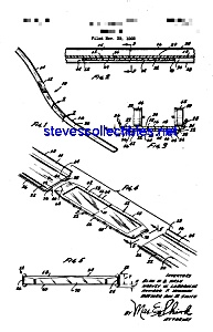 Patent Art: 1970 Hot Wheels Car Track Toy