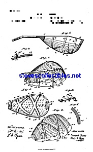 Patent Art: 1880s Lyon And Healy Mandolin