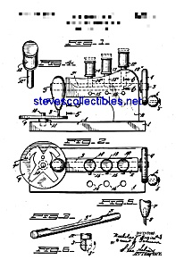 Patent Art: 1950s Toy Sewing Machine (Image1)